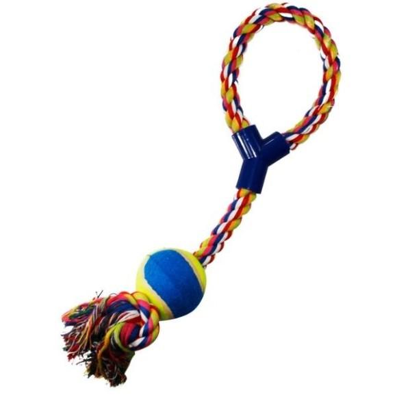 Brinquedo Pet para Cachorro Corda com Bola Western Pet - 11