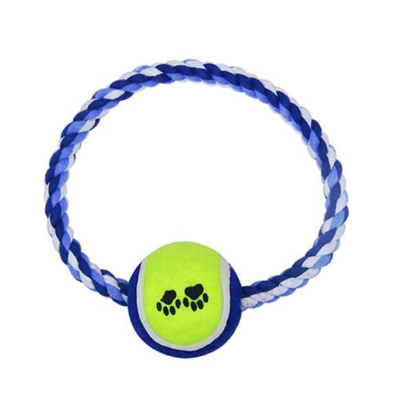 Brinquedo Pet para Cachorro Corda com Bola Western Pet - 514