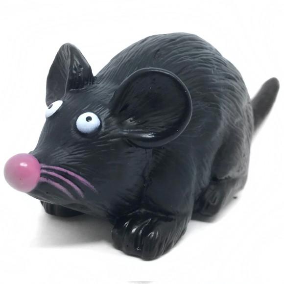 Brinquedo Pet para Cães e Gatos Rato com Apito Western Pet - 333