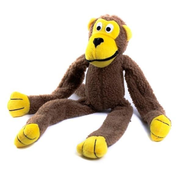 Brinquedo Pet para Cachorro Macaco Pelúcia Western Pet 586