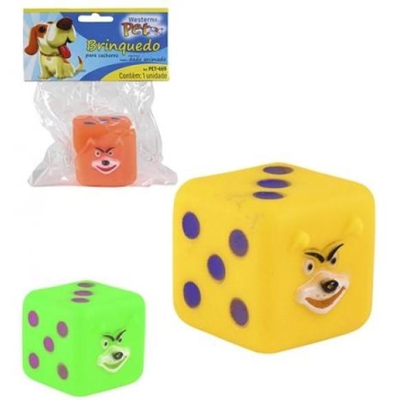 Brinquedo para Cachorro Dado Animado Western Pet - 469