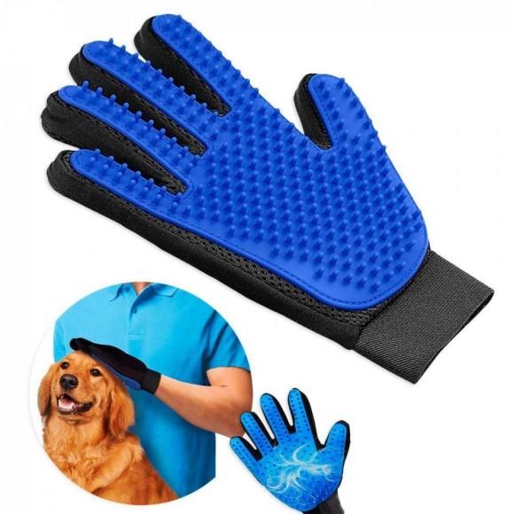 Luva Escova Tira Pelos para Cães e Gatos