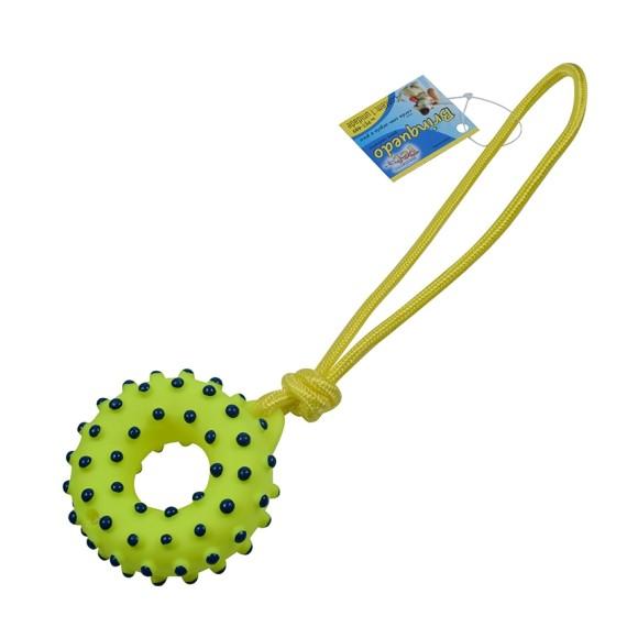 Brinquedo Pet Corda com Argola e Pinos Western Pet 489