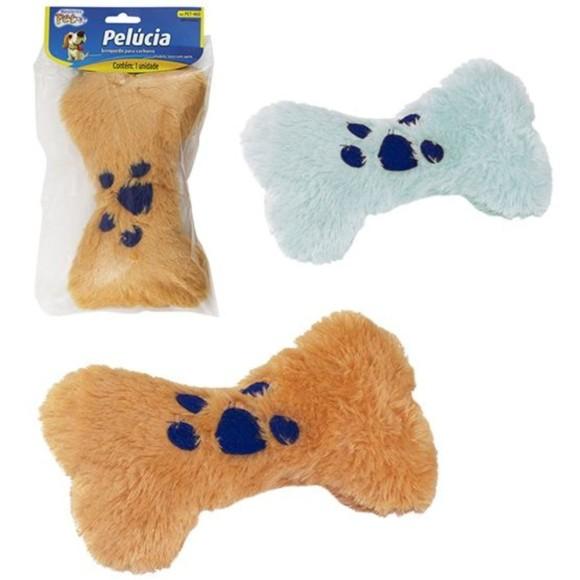 Brinquedo Pet Mini Almofada com Apito em Fomato de osso Western Pet 460