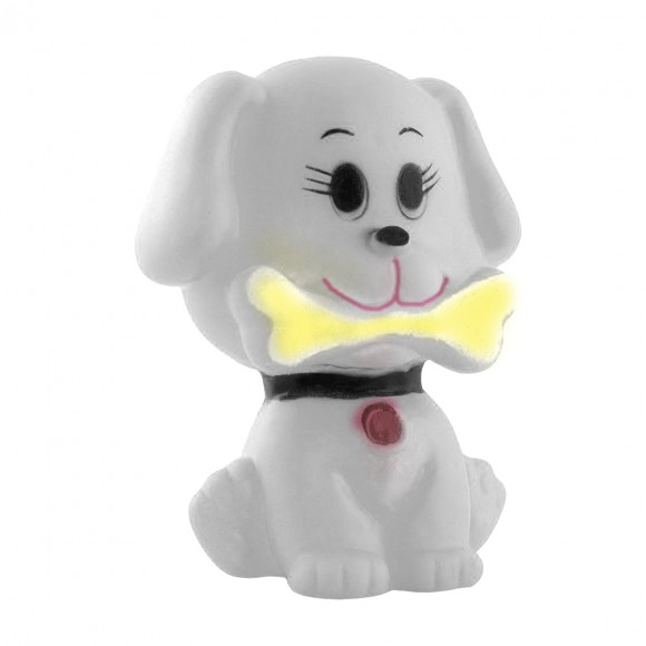 Brinquedo Pet Dalmata Amarelo com Apito