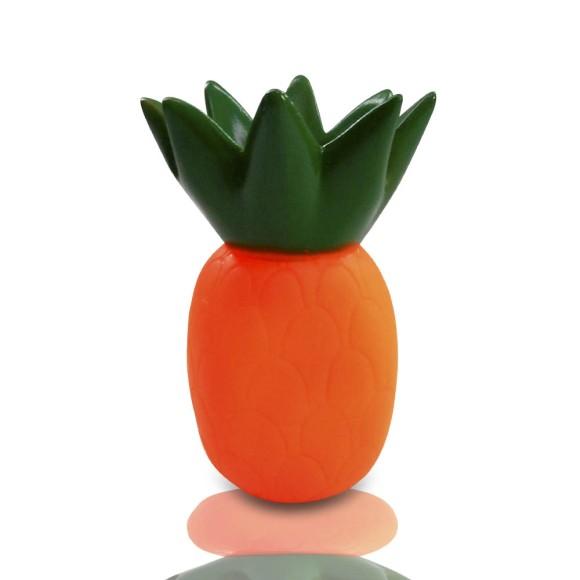 Brinquedo para cachorro abacaxi com Apito Western Pet 472