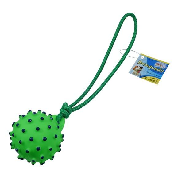 Brinquedo para cachorro corda com bola e pino Western Pet - 490