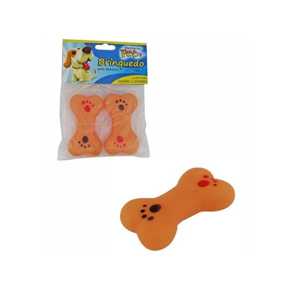 Brinquedo Pet Osso Duplo Western Pet 348