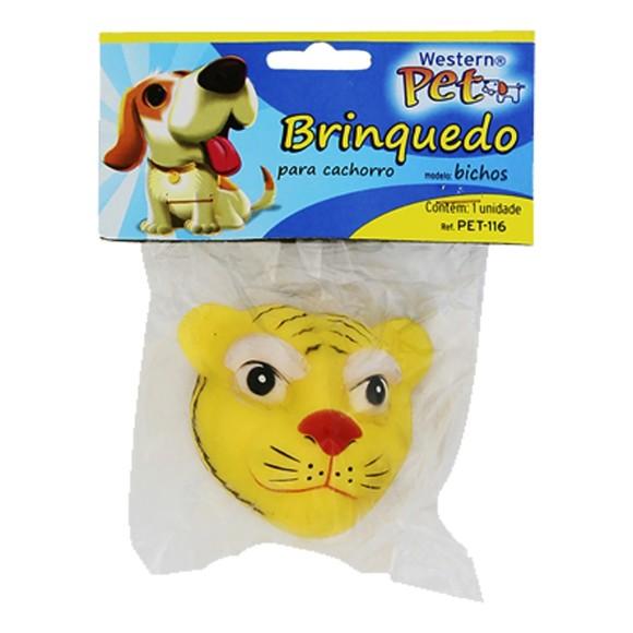 Brinquedo Pet Bichos Tigre Western Pet-116