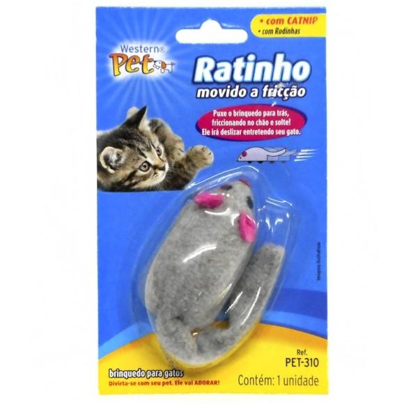 Ratinho Pet Movido a Fricção Western Pet 310